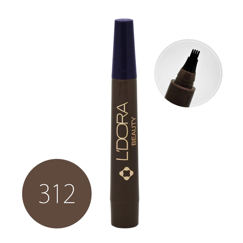 قلم هاشور ابرو لدورا کد 312