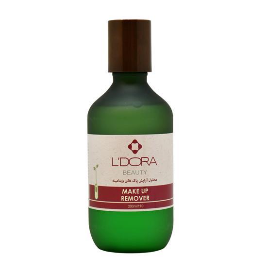 محلول آرایش پاککن دوفاز ویتامینه لدورا
