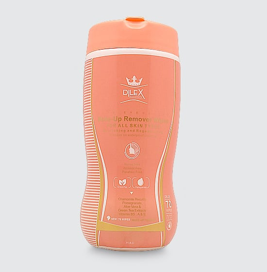 دستمال مرطوب استوانهای آرایش پاککن دایلکس