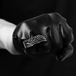 انگشتر مردانه بال عقاب برند گامویا